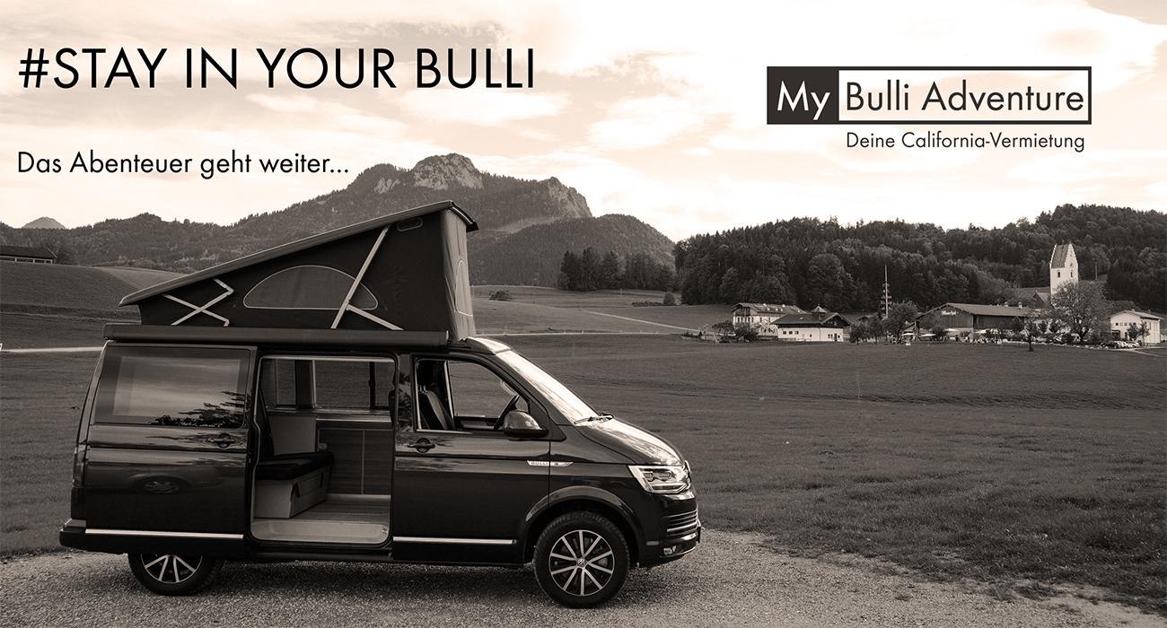My Bulli Adventure  VW T8 California Bus, Bulli, Camper mieten